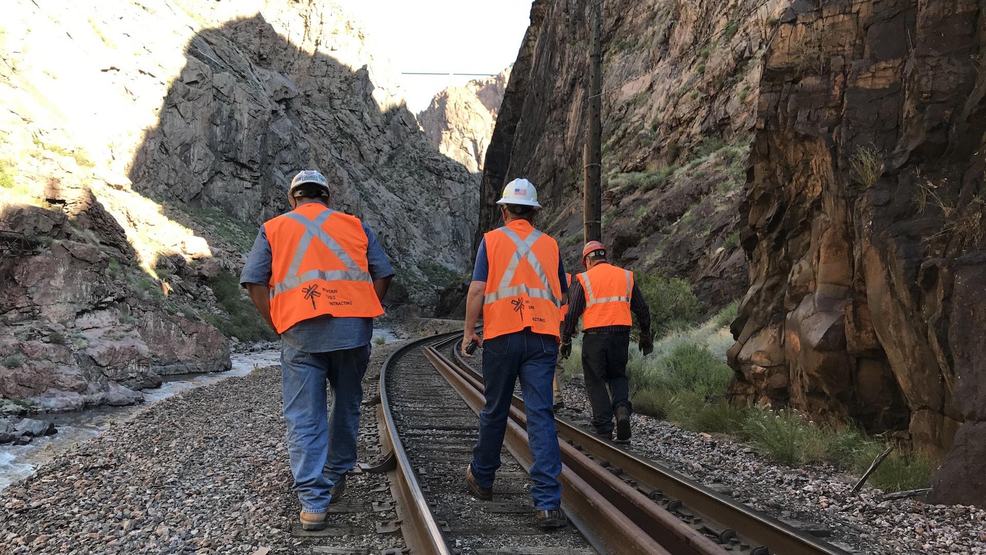 track inspection Colorado, track maintenance Colorado
